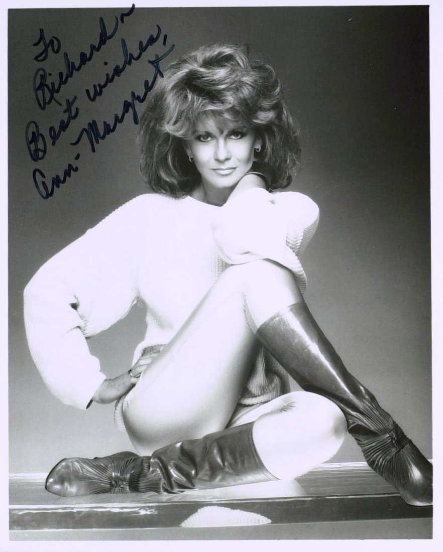 1013: Swedish Actress ANN-MARGARET - Two Photos Signed