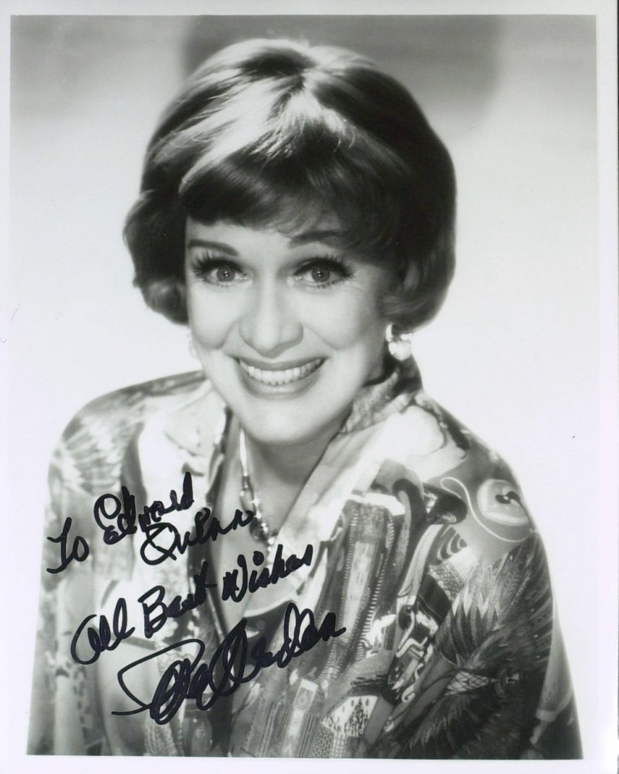 1015: Grease Actress EVE ARDEN - Photo Signed