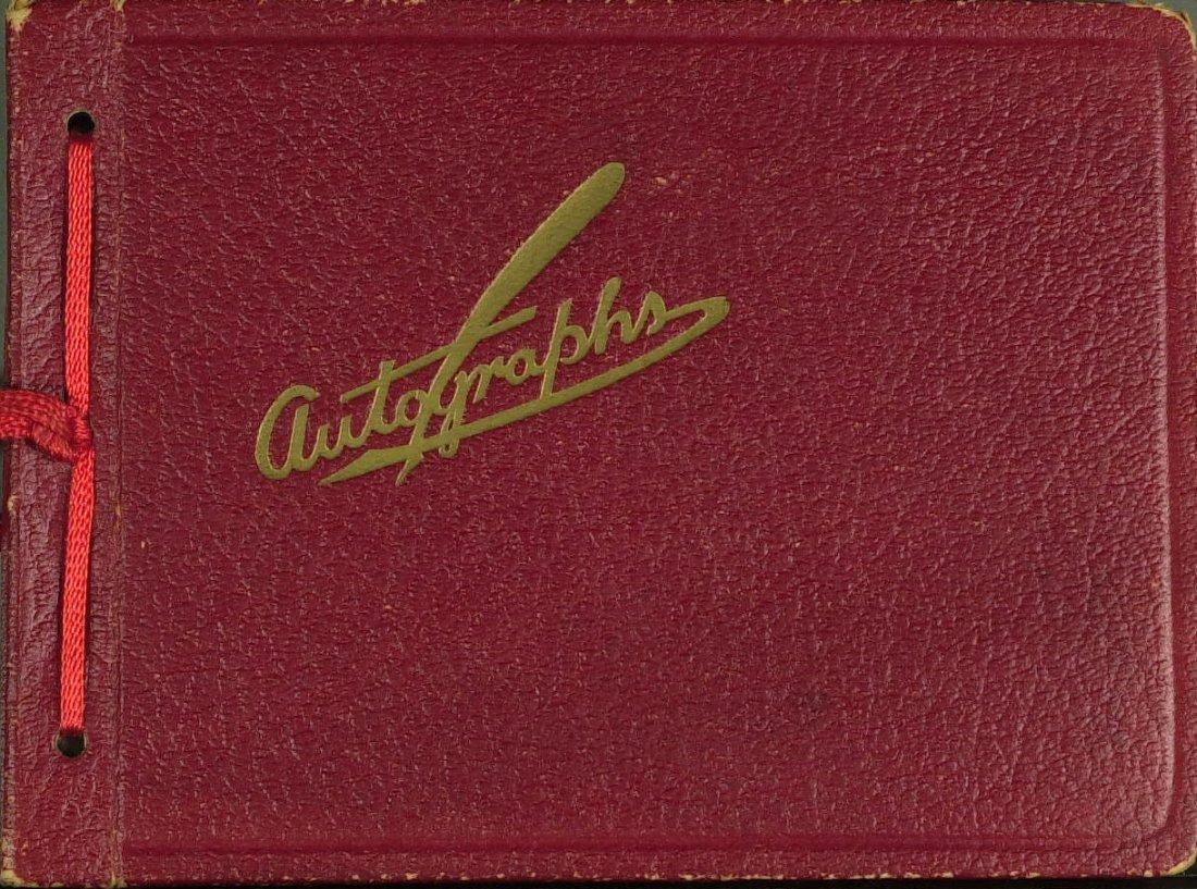 1024: 1930's Autograph Album - Stage and Opera Signatur