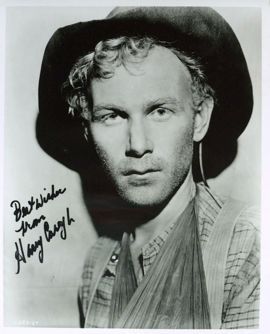 1075: Westerns Actor HARRY CAREY, JR - Photo Signed