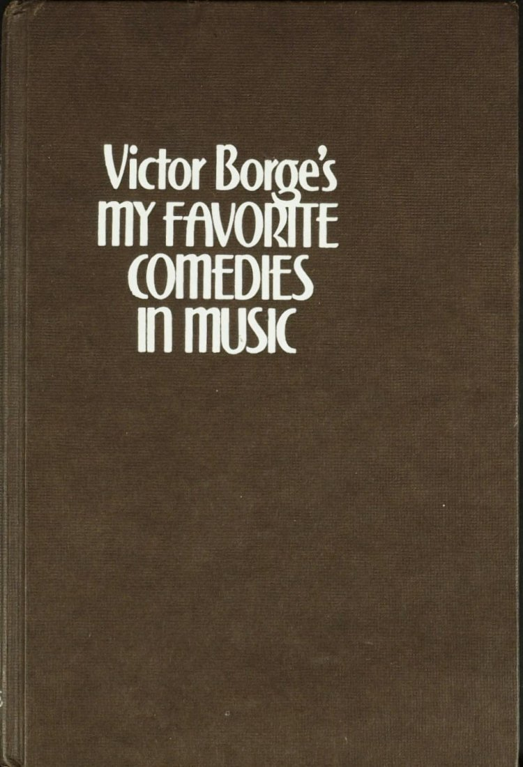 1387: Danish Comedian VICTOR BORGE - His Book Signed