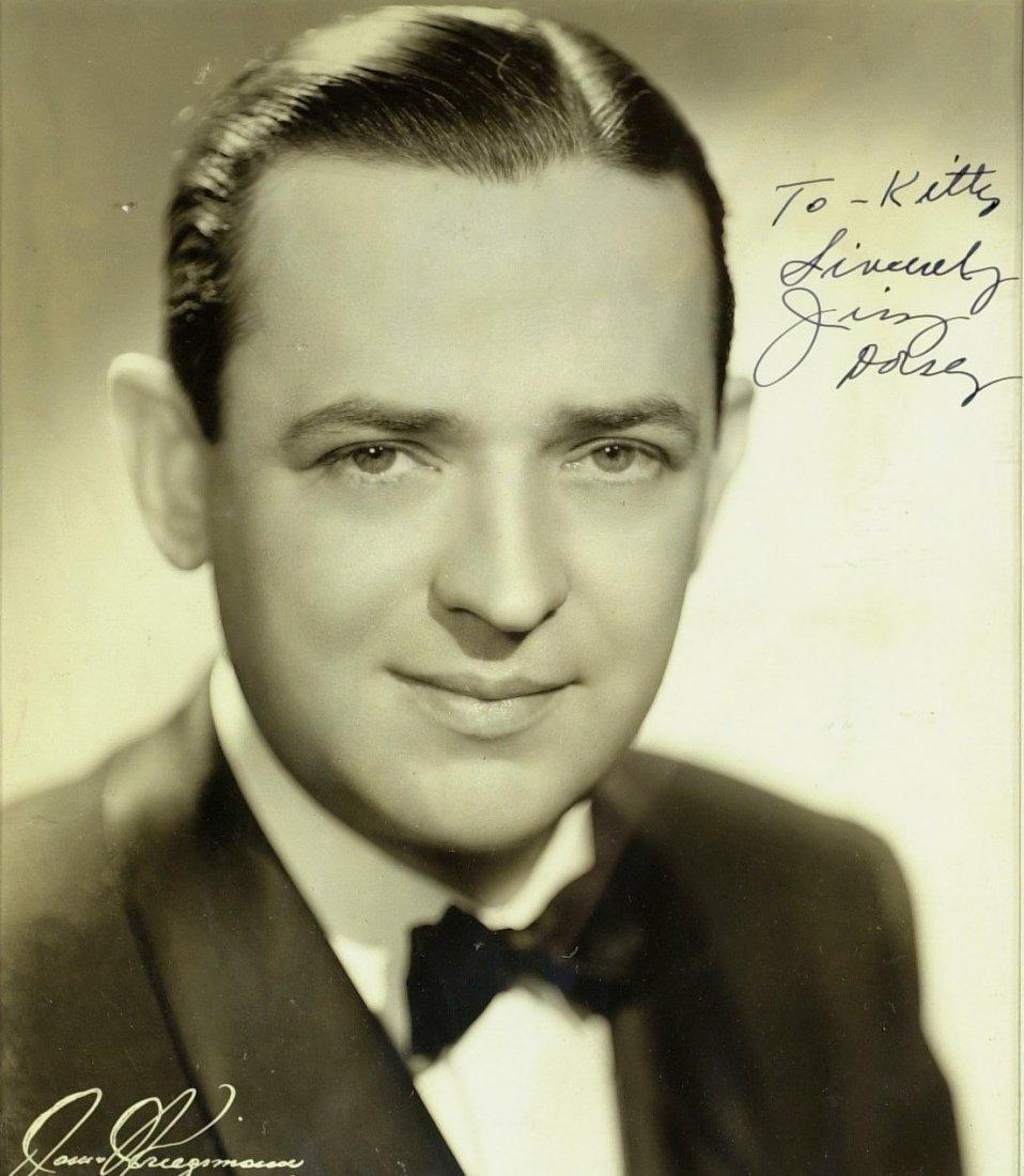 1402: Jazz Clarinetist JIMMY DORSEY - Photo Signed