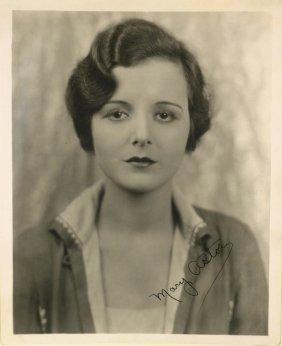Maltese Falcon Actress MARY ASTOR - Photo Signed
