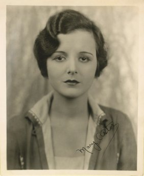 Maltese Falcon Actress MARY ASTOR - Photo Signed