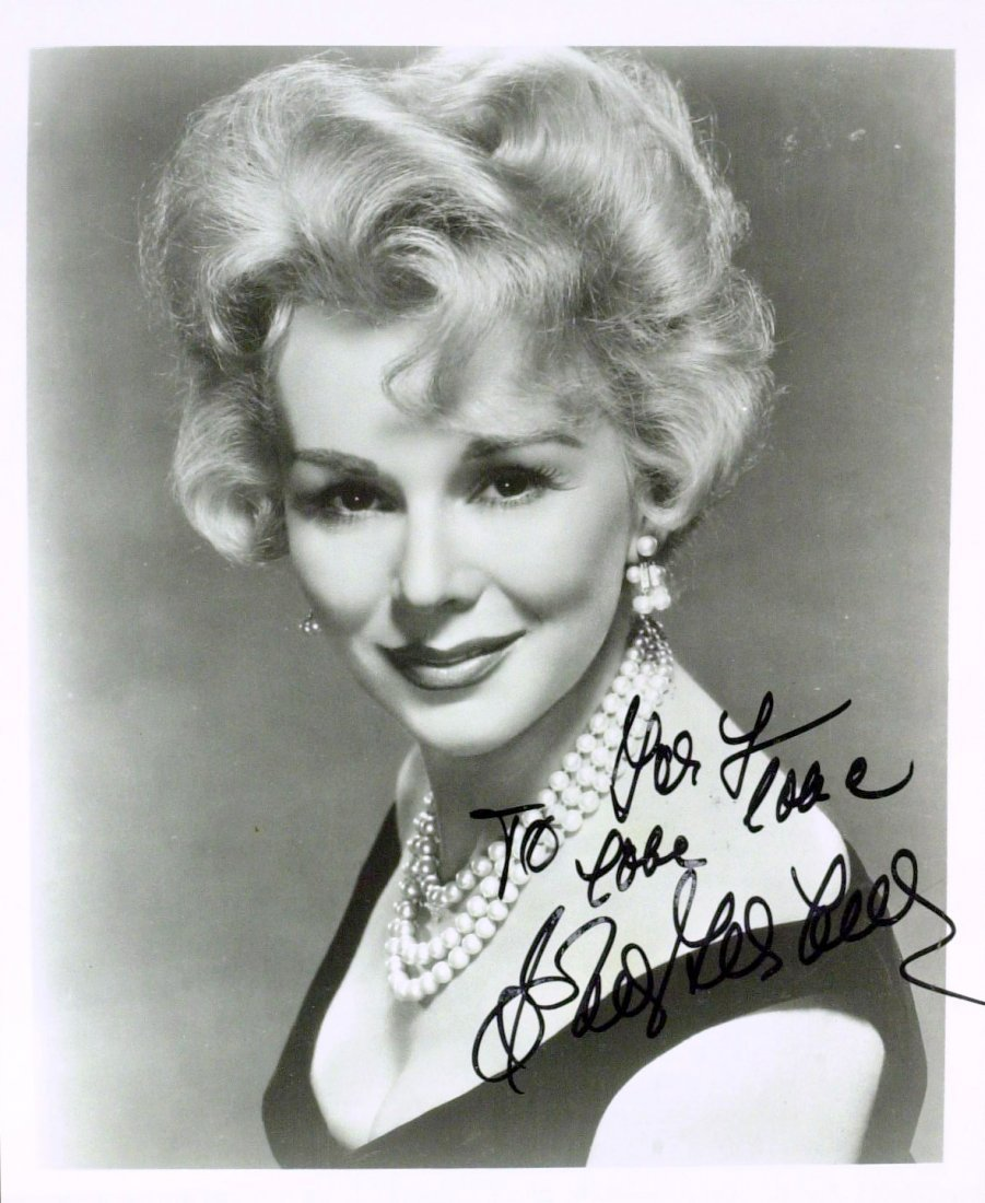 Actress BARBARA BEL GEDDES - Photo Signed