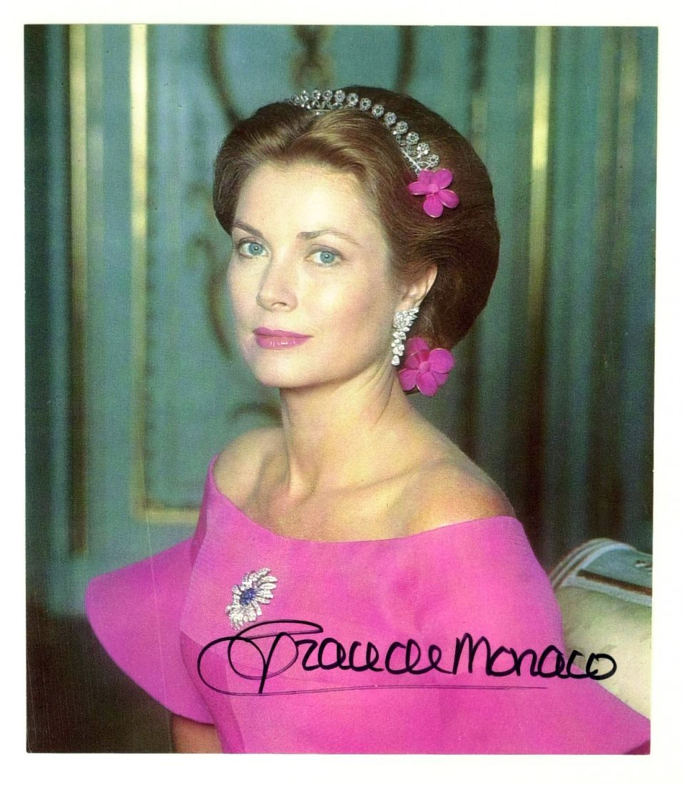 Actress, Princess GRACE KELLY - Photo Signed