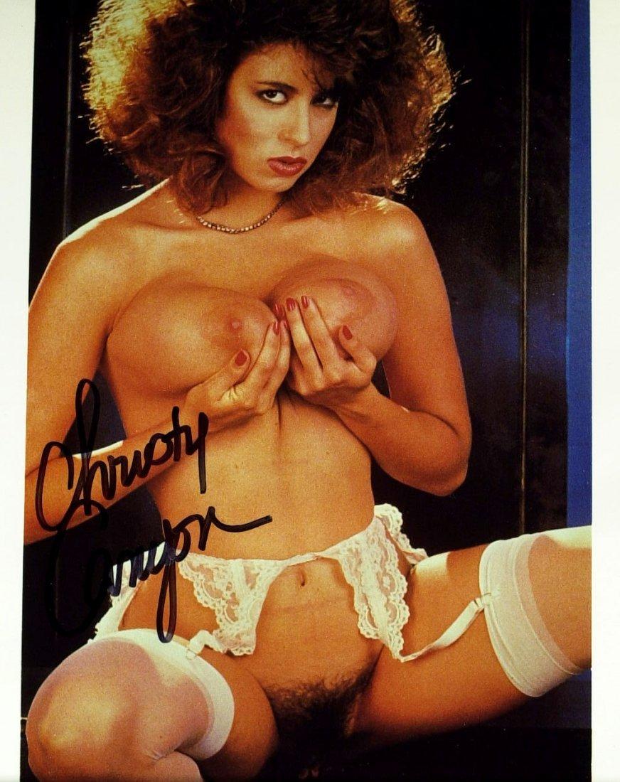 Sirius Radio CHRISTY CANYON - Nude Photo Signed