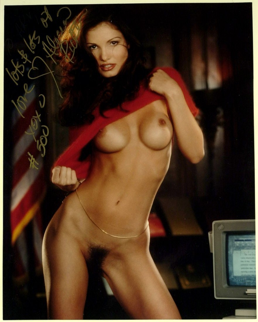 Actress ALICIA RICKTER - Nude Photo Signed