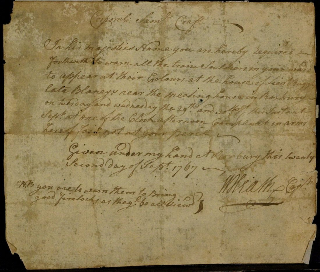 Rev War General WILLIAM HEATH-Military Order Signed