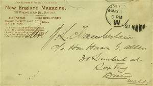 Gettysburg Hero JOSHUA CHAMBERLAIN - Envelope