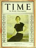 The DUCHESS of WINDSOR - TIME Cover Signed