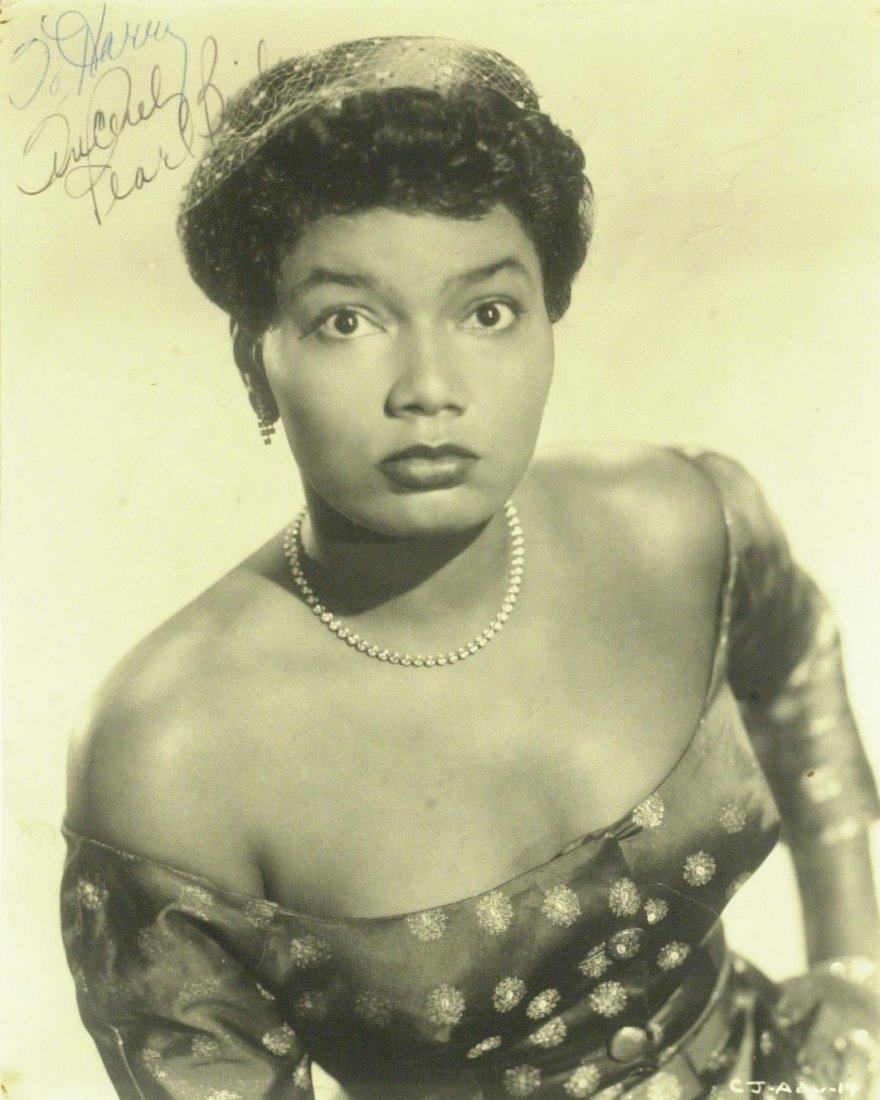 Singer, Actress PEARL BAILEY - Photo Signed