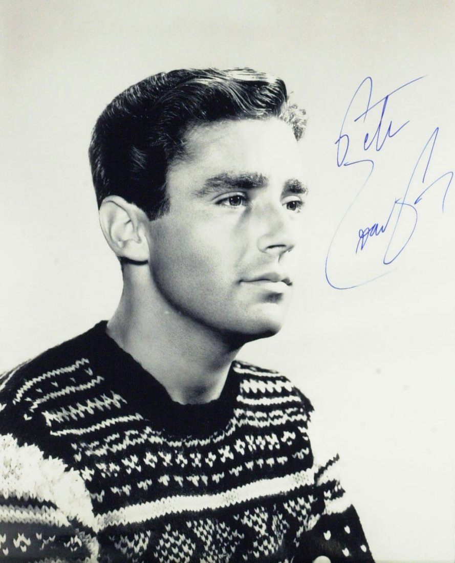 Rat-Pack Member PETER LAWFORD - Photo Signed