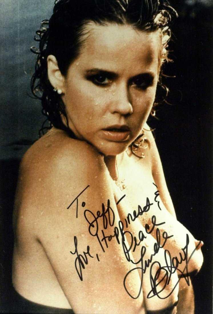 Exorcist Actress LINDA BLAIR - Topless Photo Signed