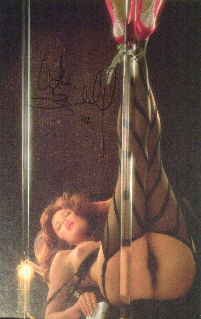 Model CYNTHIA BRIMHALL - Nude Photo Signed