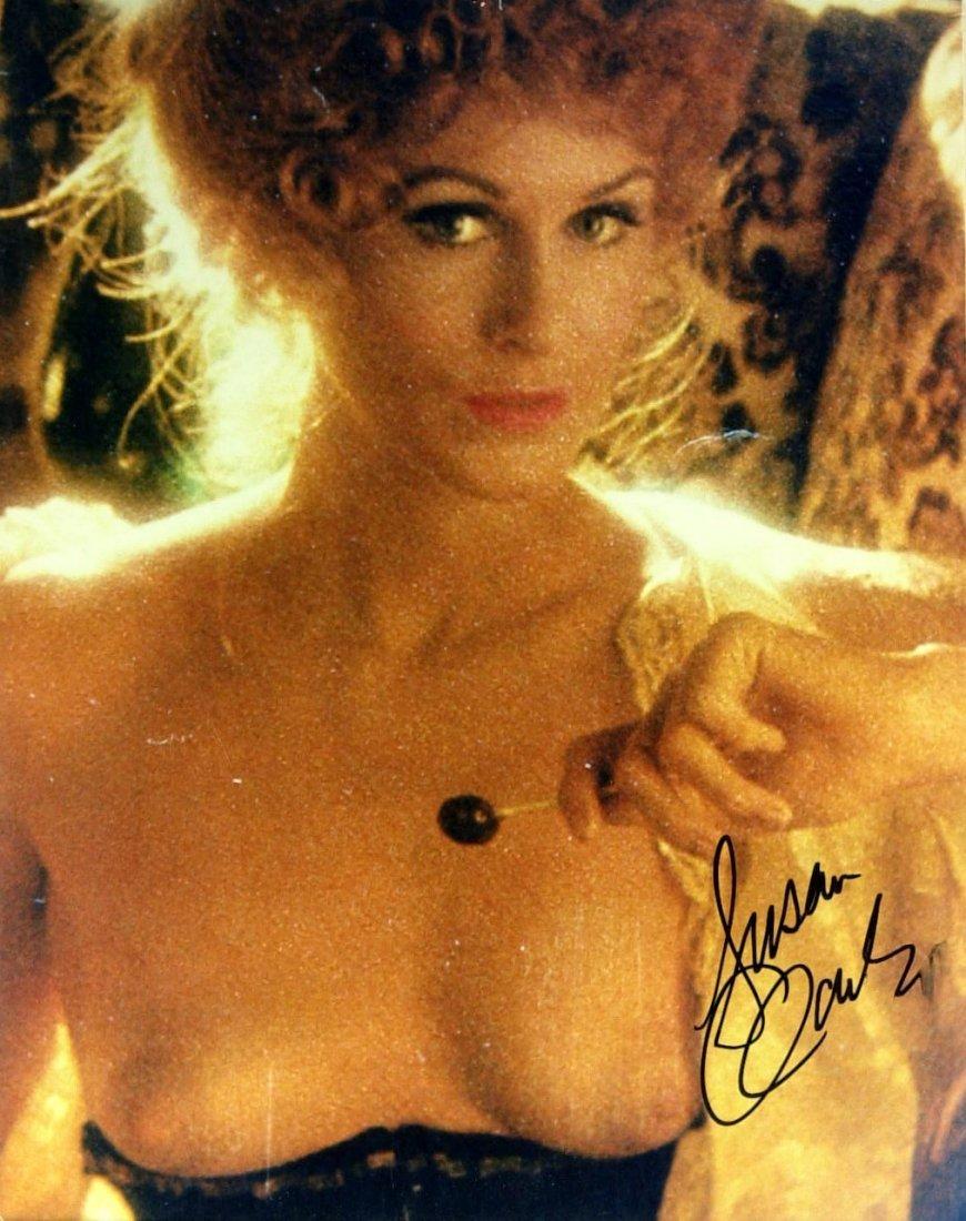 Canadian Actress SUSAN CLARK - Topless Photo Signed