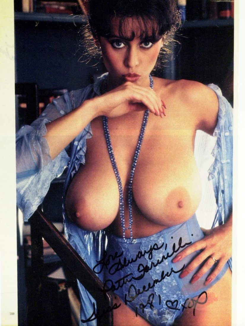 Model PATTI FARINELLI - Nude Photo Signed