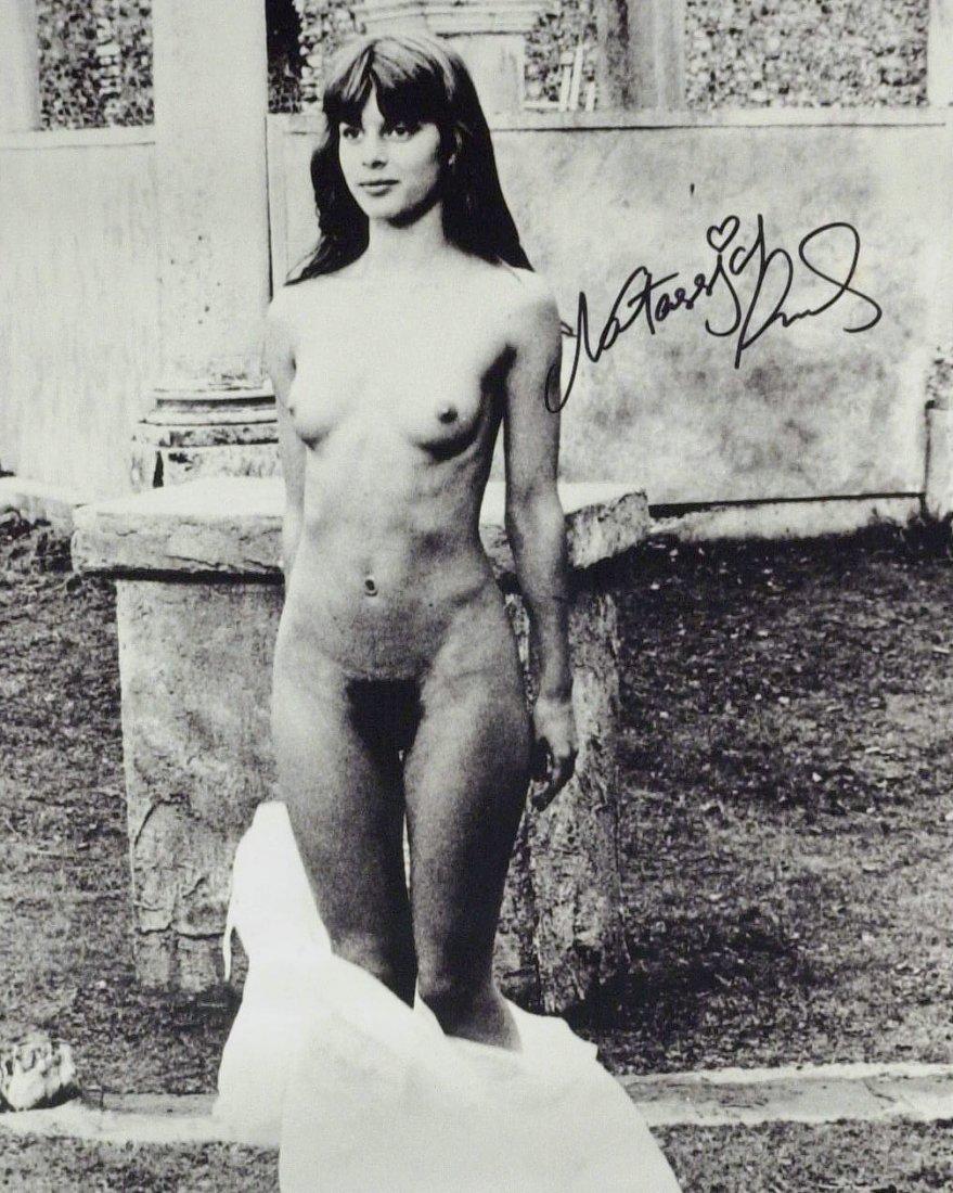 German Actress NASTASSJA KINSKI - Nude Photo Signed