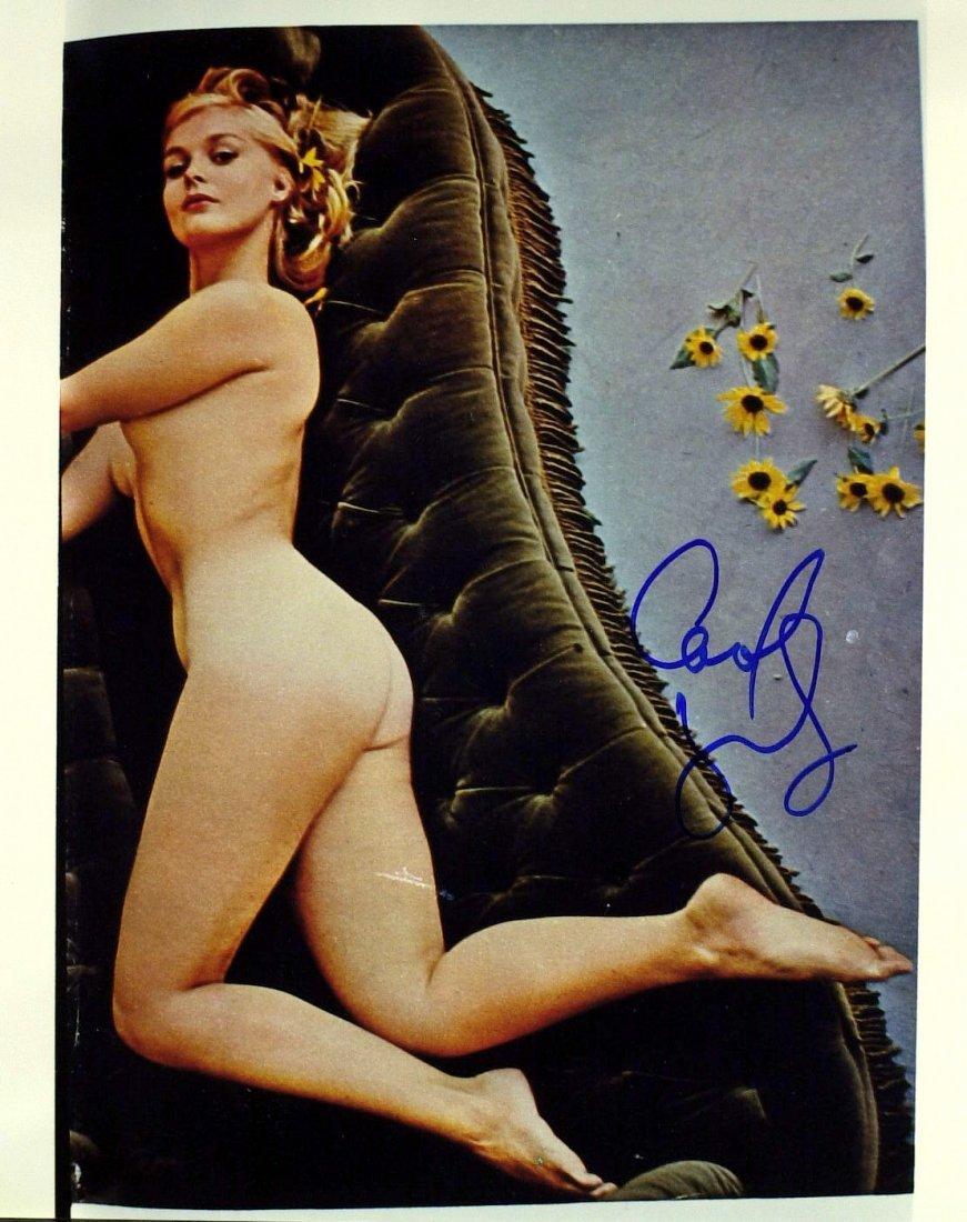 Actress CAROL LYNLEY - Nude Photo Signed