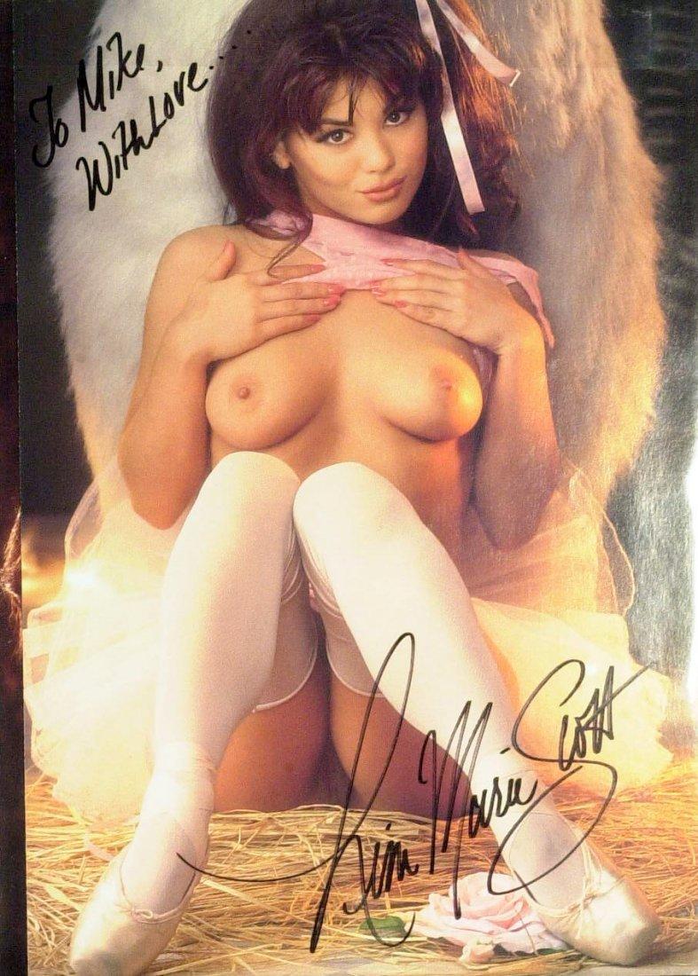 Model LISA MARIE SCOTT - Nude Photo Signed
