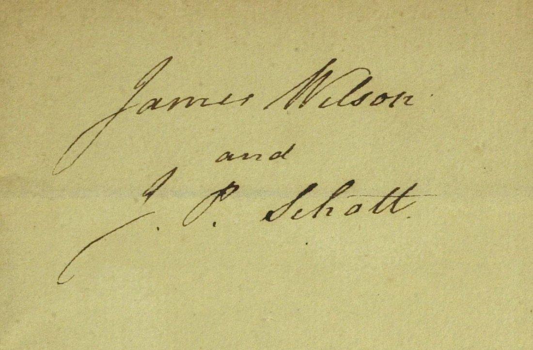 PA Signer JAMES WILSON - Sheet Signed