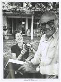 ARTHUR MILLER  Printed Photo Signed