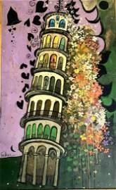 Henry Lawrence FAULKNER (American 1924-1981) Tower of