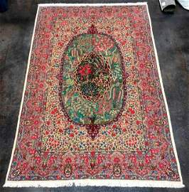 Classic Kerman Iran vintage  new Mille fleurs disign