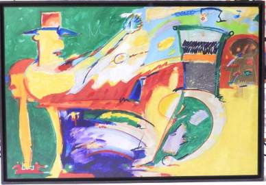Ivald Granato Title Dry Martini ,Oil on canvas