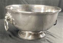 Center piece silverplate with two handles