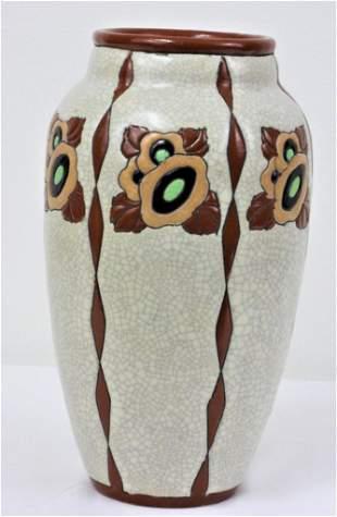 Charles Catteau - Boch Freres - Vase (1) Belgium -