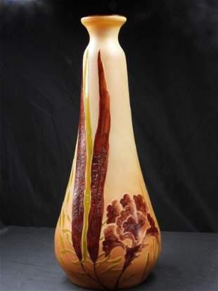 Legras Vase Art Deco
