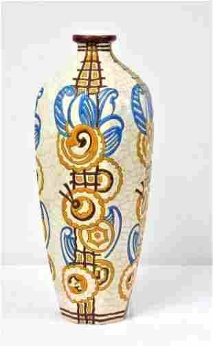 Longwy - Vase, Art Deco