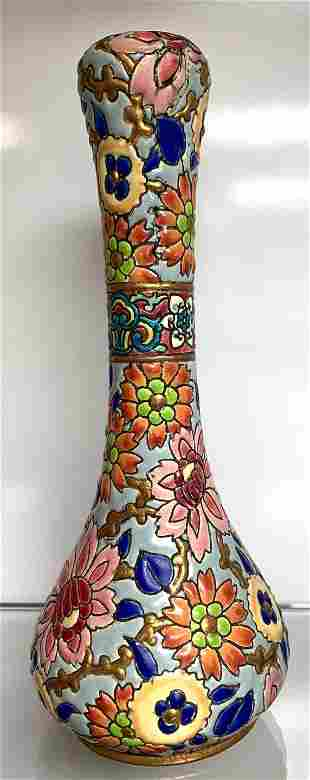 Emaux de Longwy - Art Deco vaseFrance - 1920-1949 -