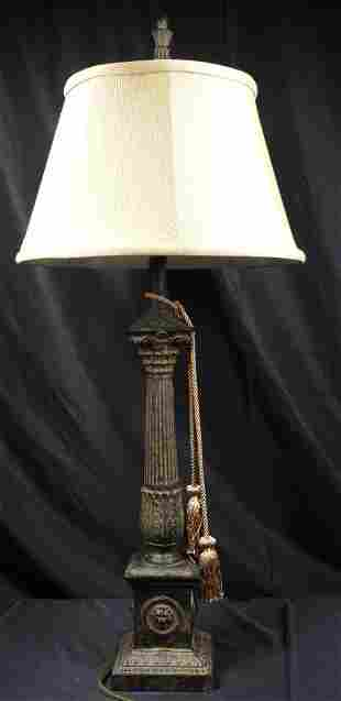 Table lamp Empire style