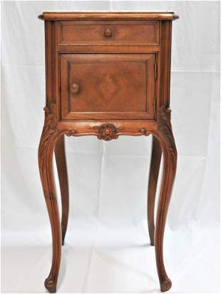 Side table with marble top Bonnin Ashley CA 1900