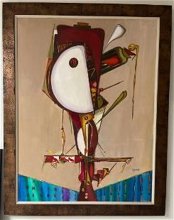 Jose Mijares,(1921 - 2004) Oil on Canvas