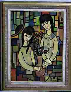 Jose Mijares,(1921 - 2004) signed oil on canvas