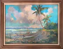 Albert Ernest Backus 19061990 attributed oilcanvas