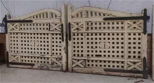 Arts and Crafts Era Wooden Gates