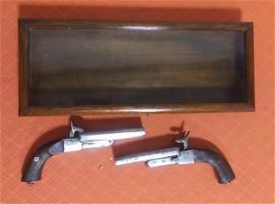 Pair of dueling pistols (replicas)