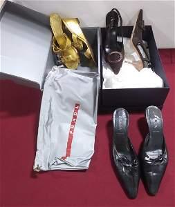 3 pairs size 36 PRADA Women's Shoes