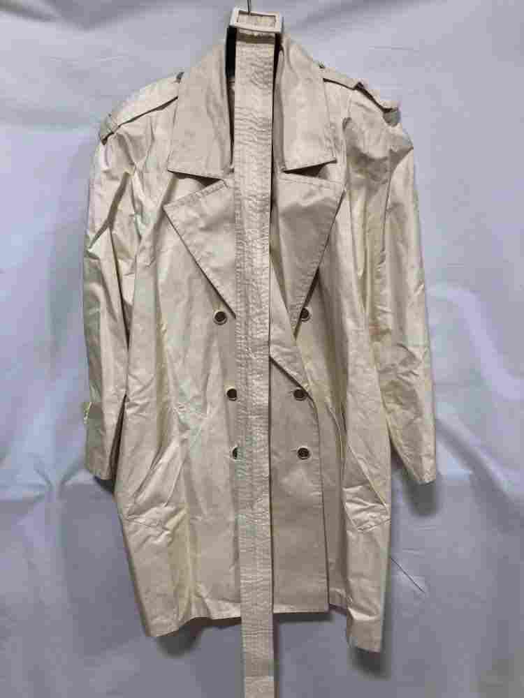 Scherrer Boutique off white raincoat