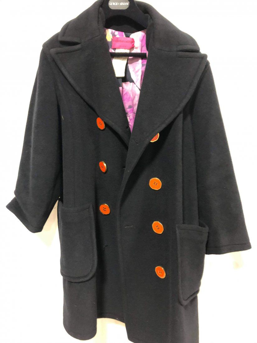Christian LaCroix wool Coat size 42