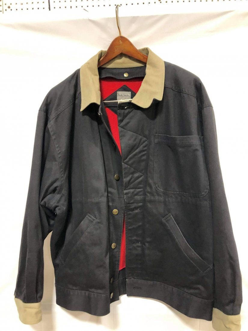Paul Smith Navy Blue with red lining size 2 coat