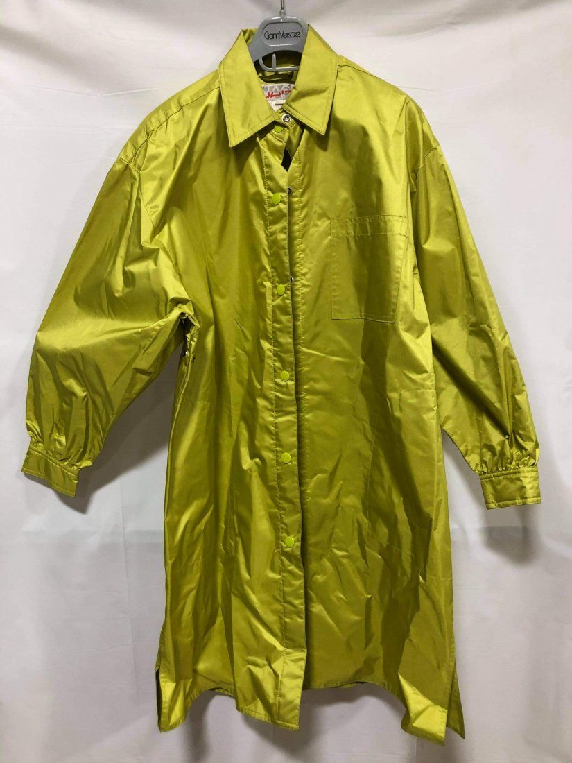 Nuage raincoat green Size M/L button down