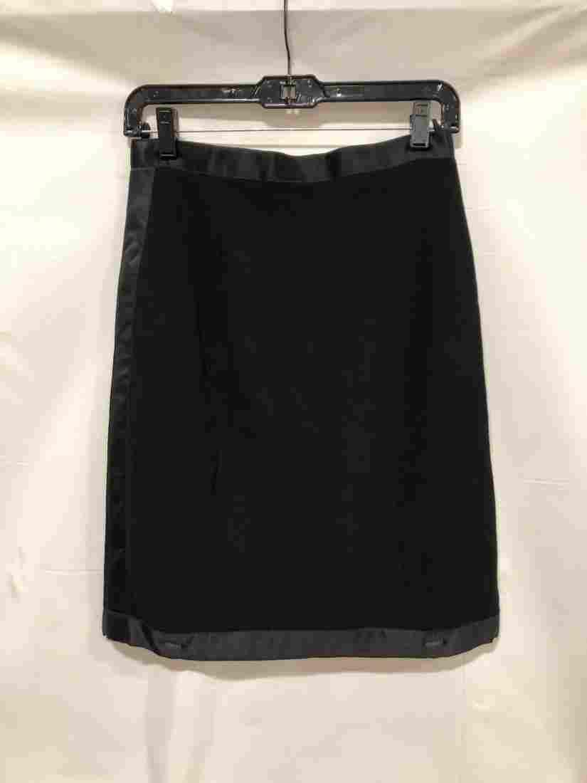 Chanel black skirt size unknown