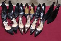 Lot of 8 pairs of high end boots and shoes