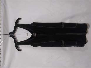 Gianni Versace black dress with pockets