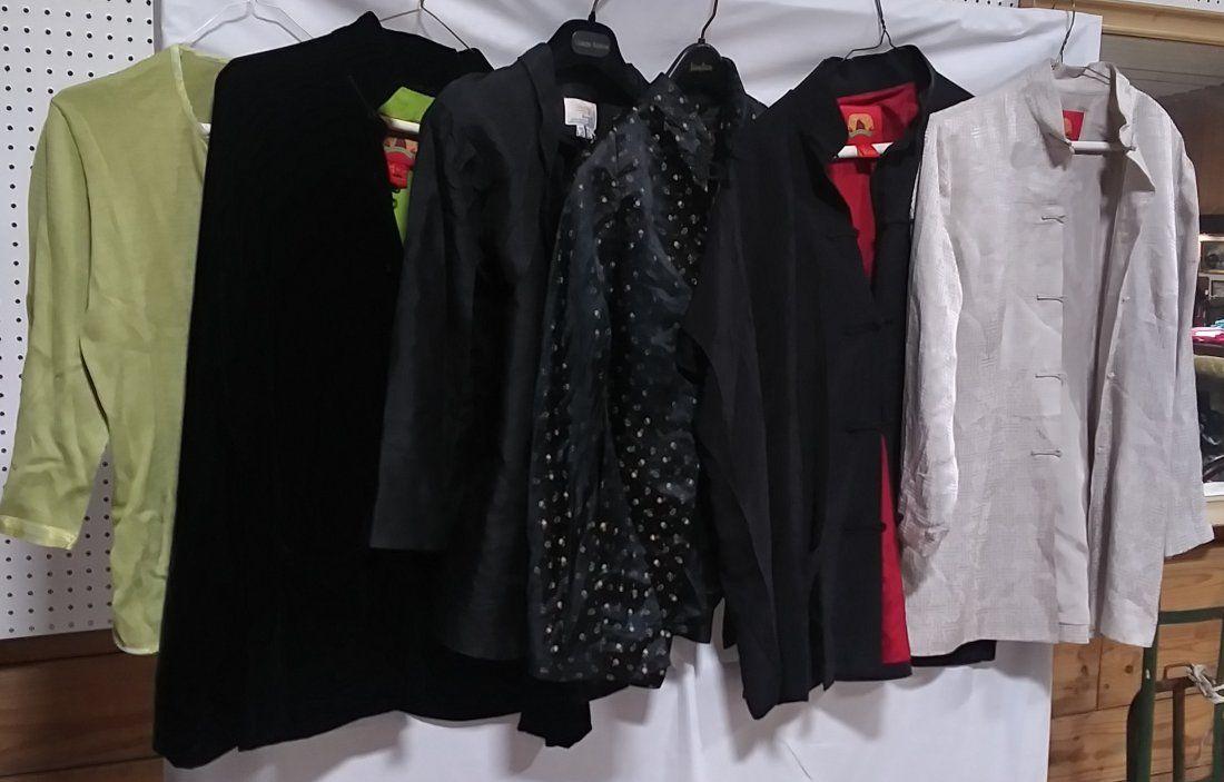 6 Oriental Style Blazers etc